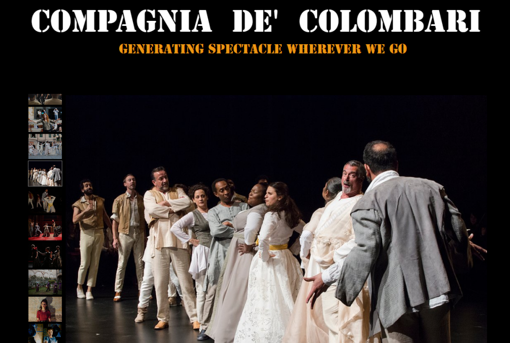 Compagnia De' Colombari Website